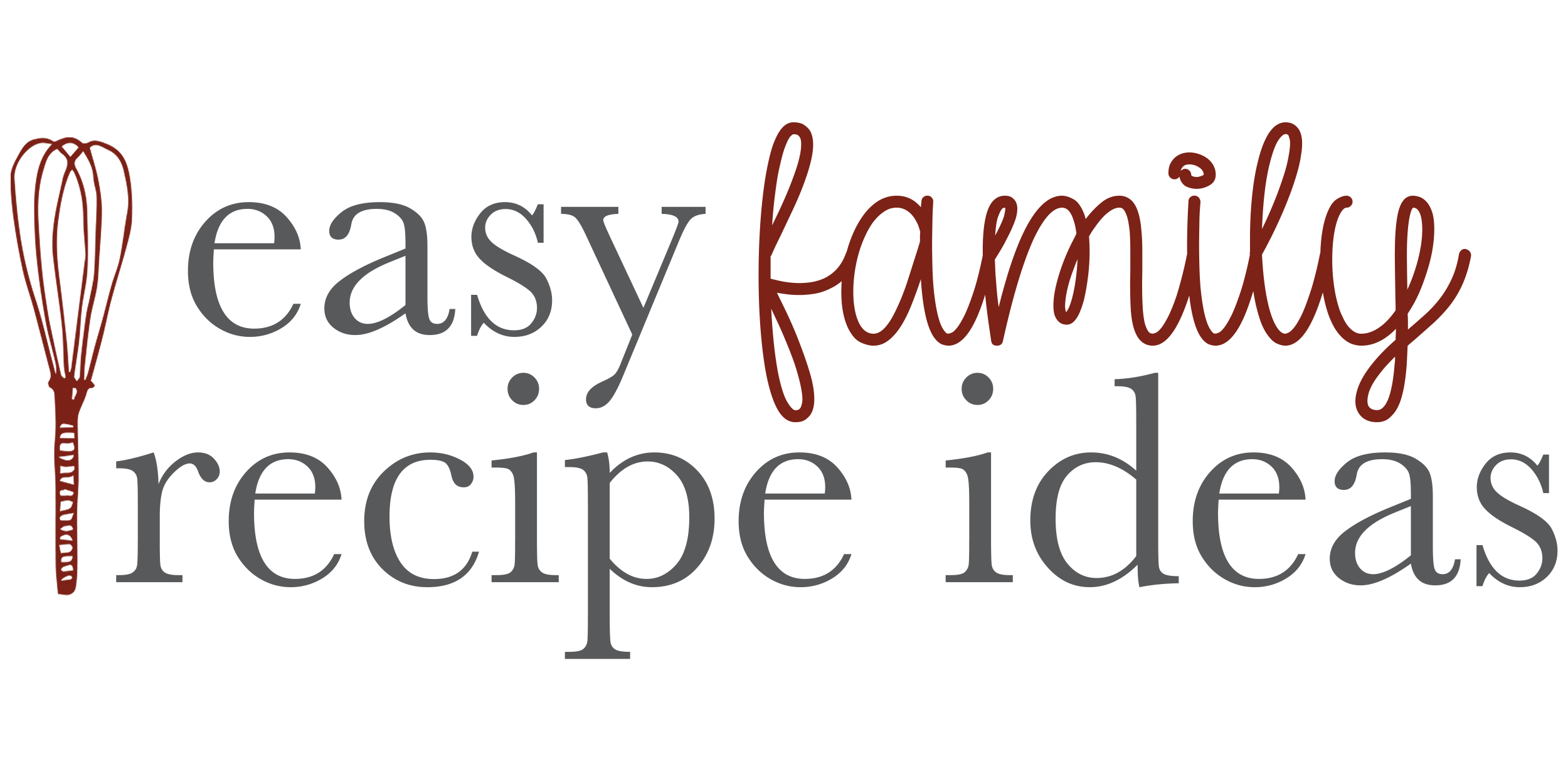 Easy Family Recipe Ideas