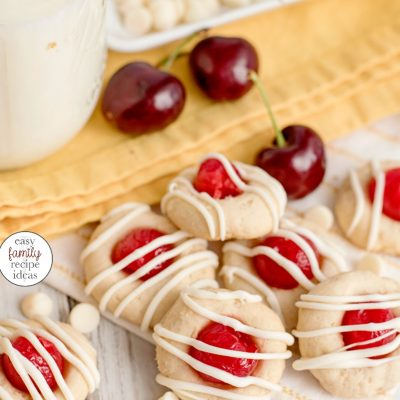 Cherry Thumbprint Cookie Recipe – The Best Christmas Cherry Cookies