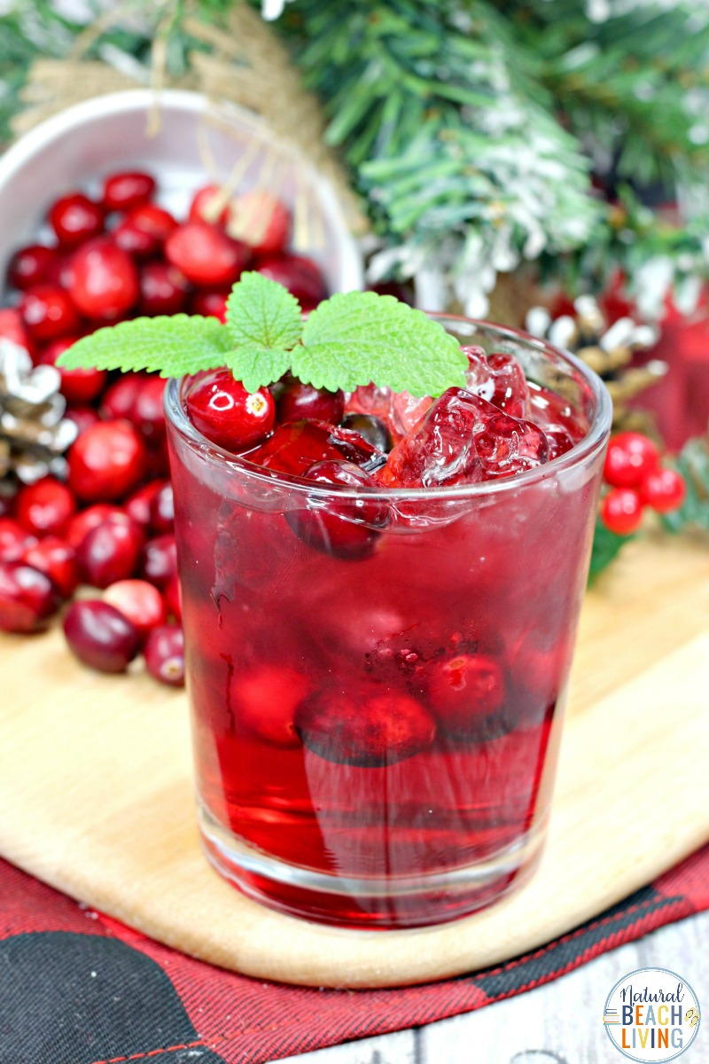 Cranberry Crush, If you are looking for a tasty drink for the holidays or winter season this Cranberry Crush is perfect! A cranberry crush cocktail is a tart, tangy and sweet drink to serve up at a holidayparty, make for New Year's Eve, or for a fun winter get together with friends.