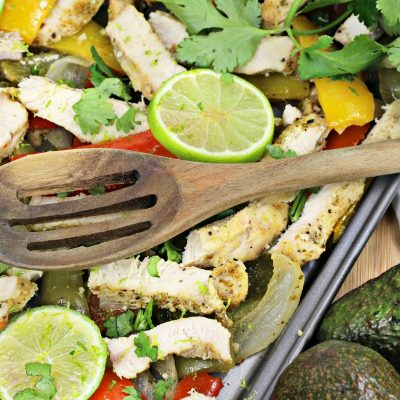 Sheet Pan Cilantro Lime Chicken Dinner