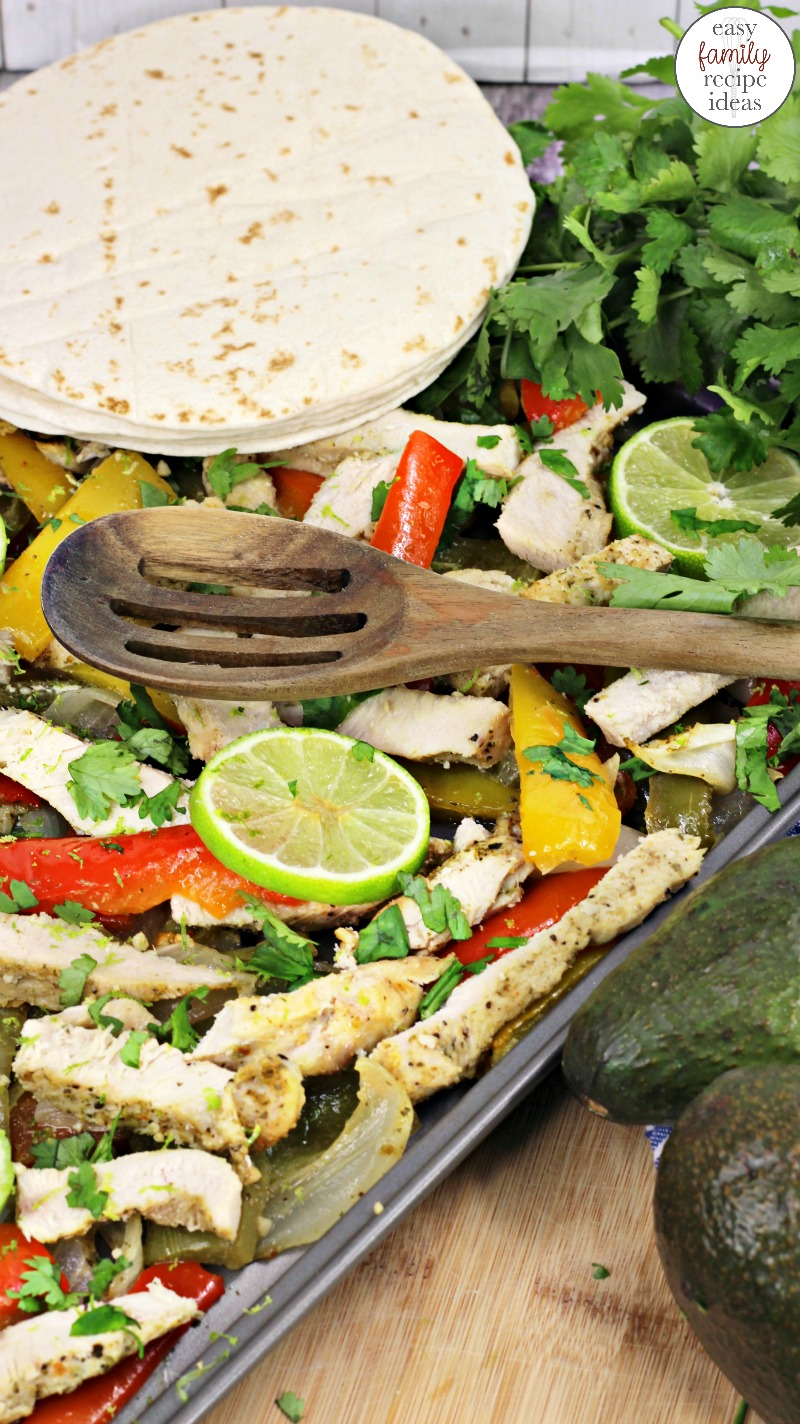 Sheet Pan Cilantro Lime Chicken, This is a healthy baked Cilantro Lime Chicken recipe perfect for the whole family to eat, Sheet Pan Dinnersare an easy one pot dish which means less mess, Chicken Dinners, Sheet Pan Dinners Healthy