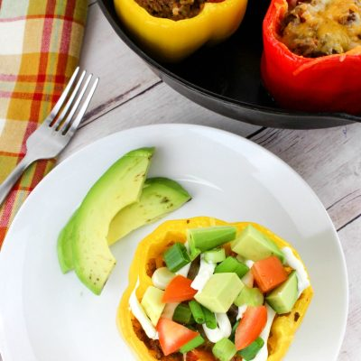 Taco Stuffed Peppers You Want to Eat Every Day