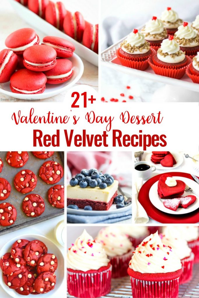 Valentine Treats, t's February, and that means a month of pink and red desserts for our sweethearts. So bring on the Valentine Sweets and delicious Valentine desserts to celebrate the ones we love. Valentine's Day Cupcakes, Red Velvet Desserts for Valentine's Day, Easy Valentine's Day Recipes and more