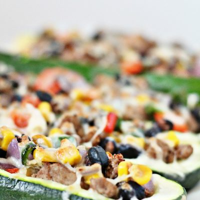Healthy Taco Recipe Zucchini Boats You Want to Eat