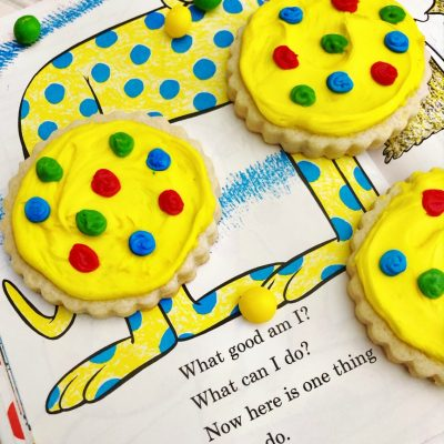 Dr. Seuss Cookies Put Me in the Zoo
