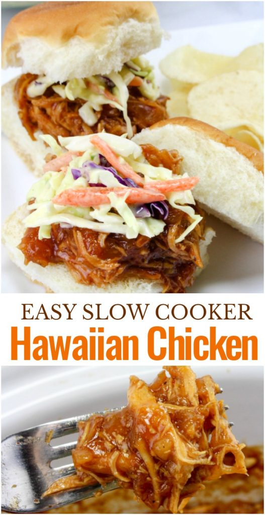 Get ready for this delicious Hawaiian Bbq Chicken Recipe that you can make in the slow cooker. All you need is 3 Ingredients to make the Best shredded barbeque chicken Sliders. This Slow Cooker Barbeque Chicken is Amazing! Make Hawaiian Roll Sliders with this Hawaiian bbq chicken crock pot recipe