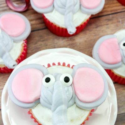 Dumbo Cupcakes – Circus Party Food