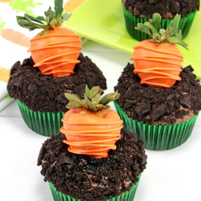 Easter Chocolate Cupcakes – Carrot Patch Cupcakes