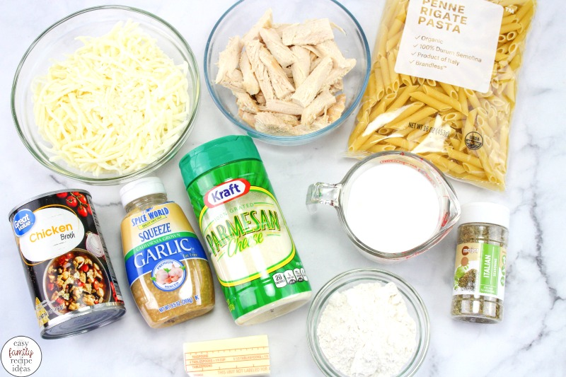 This Chicken Alfredo Penne Pasta is Amazing! Add Easy Chicken Alfredo Casserole to your next meal plan and keep your family happy with this Easy Chicken Alfredo Bake, Everyone loves Cheesy Pasta smothered in a tasty Alfredo cream sauce that's easy to make. Chicken penne pasta recipe