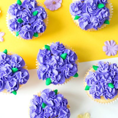 Easy Flower Cupcakes Perfect for Easter and Mother's Day