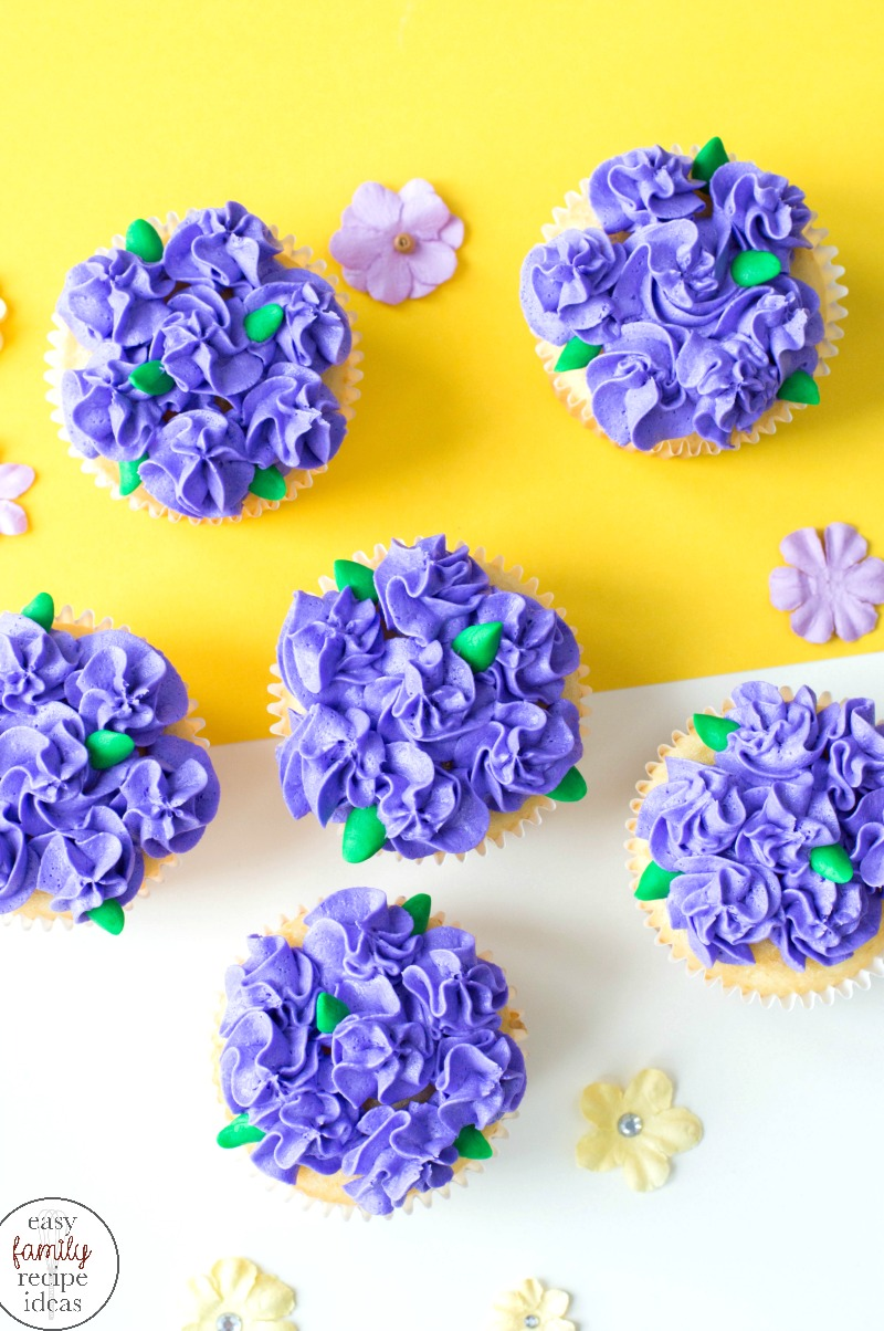 Easy Flower Cupcakes Perfect For Easter And Mother S Day Easy