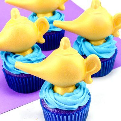 Aladdin Themed Cupcakes – Easy Disney Cupcake Idea
