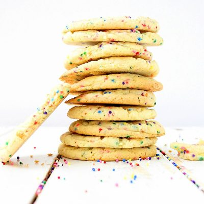 The Best Funfetti Sugar Cookies