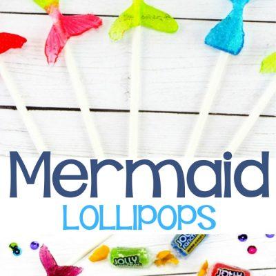 Mermaid Lollipops – Easy Mermaid Tail Candy