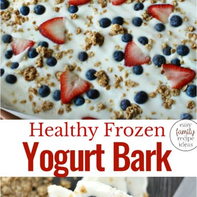 Frozen Yogurt Bark Recipe – Easy and Healthy