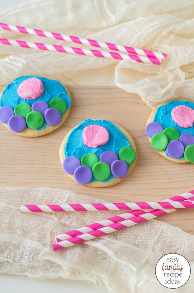 Mermaid Cookies For An Under The Sea Party Easy Family