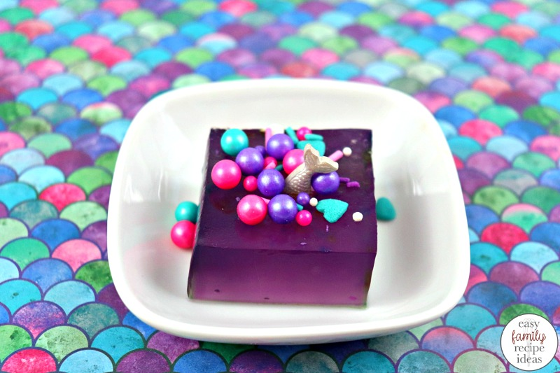 Bring on all of the little mermaids and serve them Mermaid Jello for your next summer party. This is an easy recipe to make for a mermaid themed party food. Mermaid recipes for Kids and Adults Plus your fun mermaid party food, Birthday Party Food Ideas