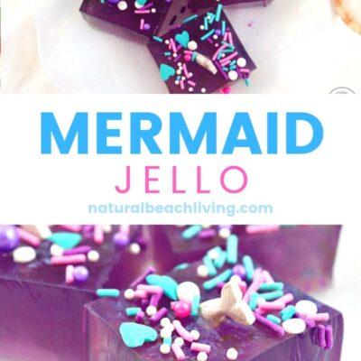 Mermaid Jello Recipe for an Ocean Birthday Party
