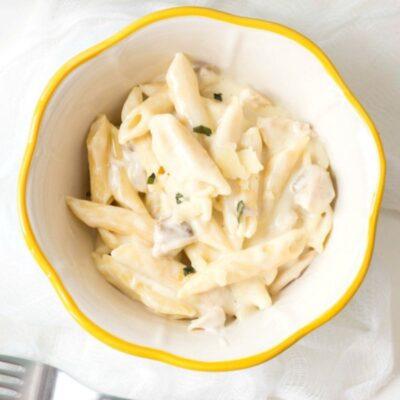 Instant Pot Creamy Chicken Penne Pasta