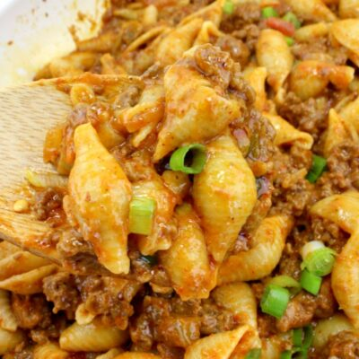 Taco Pasta – The Best Cheesy Taco Pasta