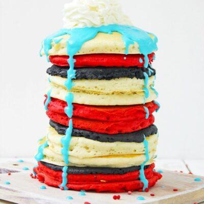 Dr. Seuss Pancakes for Fun Dr. Seuss Party Food Ideas