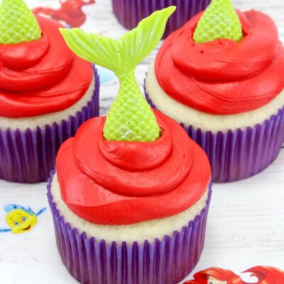 Little Mermaid Cupcakes Make Perfect Disney Themed Recipes