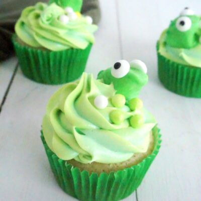 Princess Tiana Cupcakes Perfect for a Disney Party