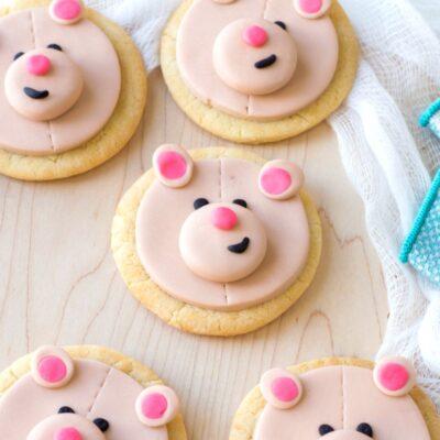 Teddy Bear Cookies for a Teddy Bear Party