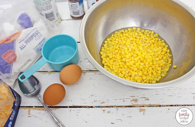 These Corn Fritters are simple and easy to make. One bite and you're going to be hooked. The key is using fresh corn in the recipe! Corn Fritters weight watchers Yes Please! These fresh corn fritters are really delicious and would make a great addition to any brunch, lunch, side dish or for appetizers.
