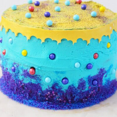 Aladdin Cake Recipe – Easy Disney Birthday Party Food Idea