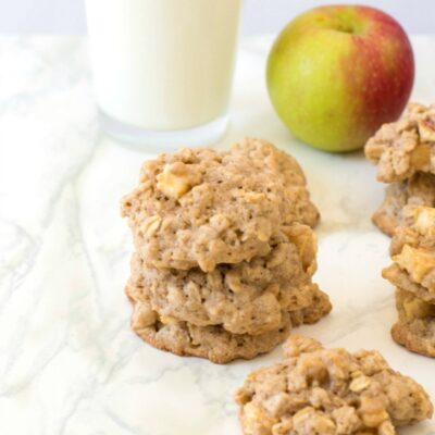Apple Oatmeal Cookies an Easy Fall Snack Idea
