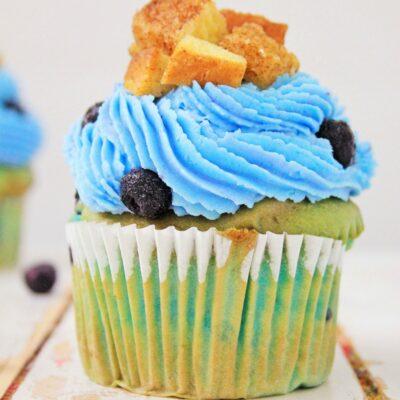 Blueberry French Toast Cupcakes Recipe Tastes Amazing