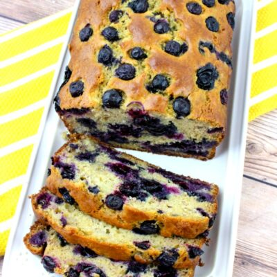 Banana Blueberry Bread Recipe – Easy and Delicious