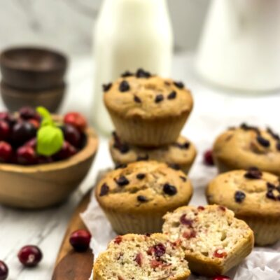 Cranberry Sauce Muffins Recipe Perfect for Thanksgiving and Christmas Breakfast