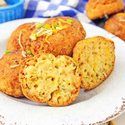 Gluten Free Cheddar Biscuits – Easy Cheesy Biscuits