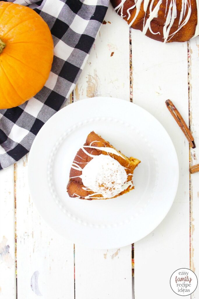 The taste and flavor of this Pumpkin Angel Food Cake is amazing! A Perfect Angel Food Cake Recipe for fall and a great way to end any meal. This Angel Food Cake for Thanksgiving will have your family begging for dessert. It's moist, fluffy and creates a true pumpkin pie taste. YUM!