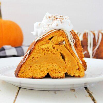 Pumpkin Angel Food Cake – Easy Pumpkin Cake Everyone Loves