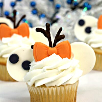 Disney Olaf Cupcakes are a Perfect Frozen Cupcake Idea
