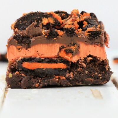 Oreo Brownies Recipe for Halloween