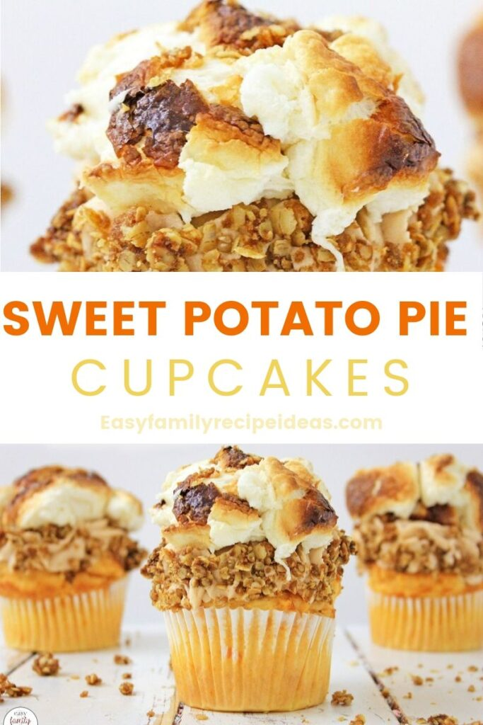 These Sweet Potato Pie Cupcakes are the perfect Thanksgiving treat. All you need to do is give this recipe a try and you're going to love it. Sweet Potato Casserole Cupcakes are simple to make, even though they might not look it. Taking that first bite will make you see why these Sweet Potato Cupcakes are a huge hit