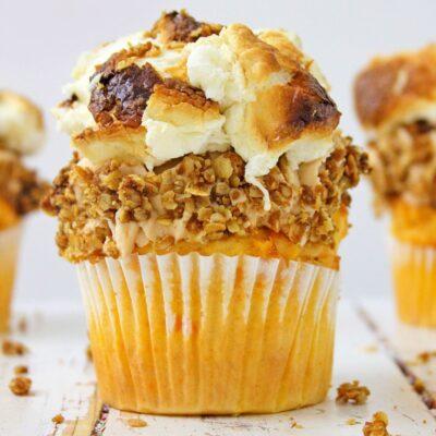 Sweet Potato Pie Cupcakes Recipe Perfect Thanksgiving Dessert