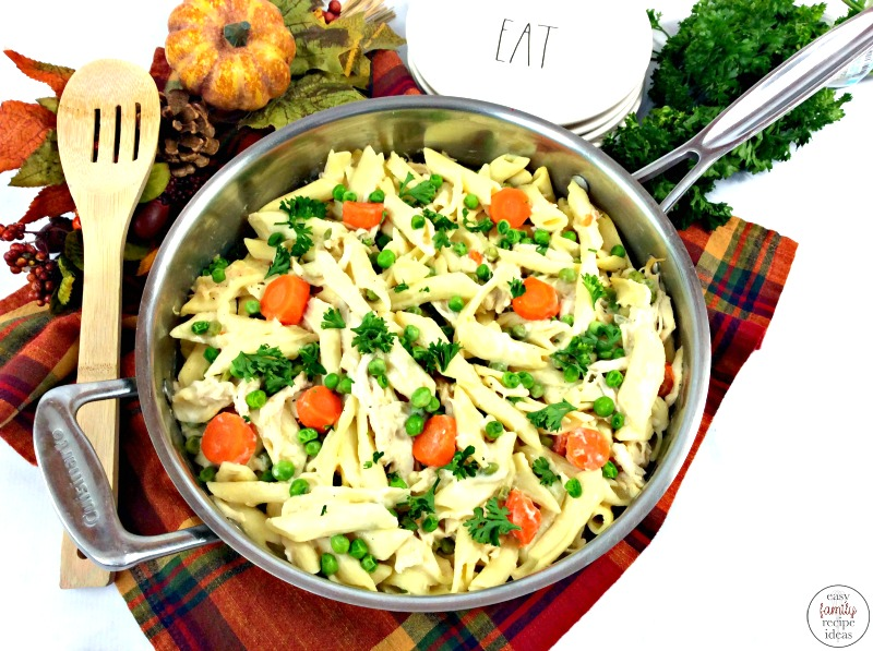 This Turkey Alfredo Penne Pasta Recipe is so simple to make. All you need are a few ingredients for a hearty Alfredo Penne Pasta and you'll be loving each and every bite! This is one delicious Penne Alfredo dish that you'll want to make over and over again.