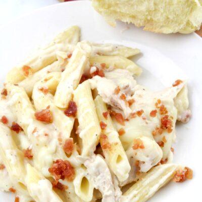 Chicken Alfredo Bacon Ranch Pasta – Easy Weeknight Dinner Recipe
