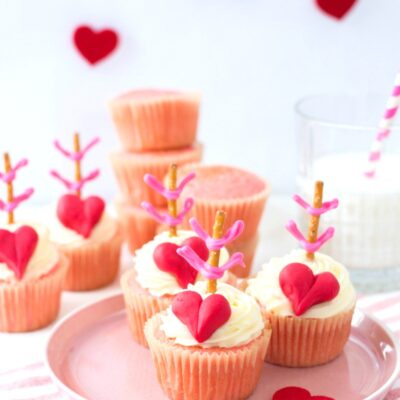 Cupid Valentine Cupcakes Recipe – Easy and Delicious