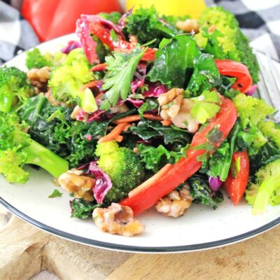 Super Detox Salad with Easy Homemade Dressing