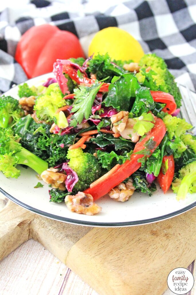 This Super Detox Salad is so simple and delicious. It's packed full of flavor and taste and is certain to have you coming back for more. This delicious Healthy Salad Recipes for Weight Loss is packed full of delicious veggies and nutrients plus so many awesome ingredients that are certain to fuel your body, Easy Green Salad Recipes
