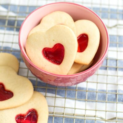 Stained Glass Valentine Cookies – Easy and Delicious