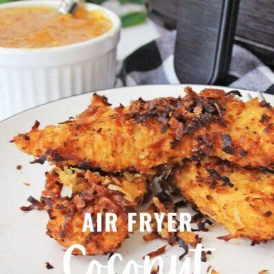 Air Fryer Coconut Chicken Recipe