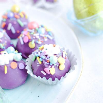 Homemade Chocolate Easter Truffles Recipe