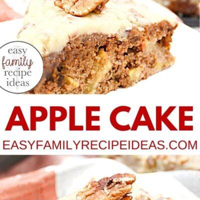 Caramel Apple Cake Recipe – Easy Apple Recipe Ideas for Fall
